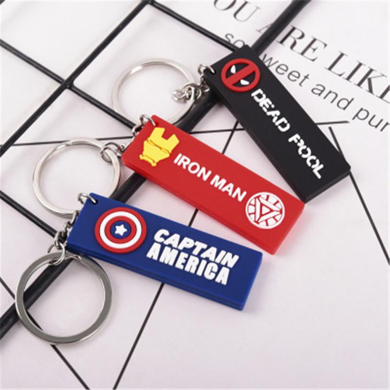 Yaratıcı Amerikalı film karakteri yumuşak kauçuk anahtarlık araba anahtarlık moda marka çanta kolye küçük bir hediye