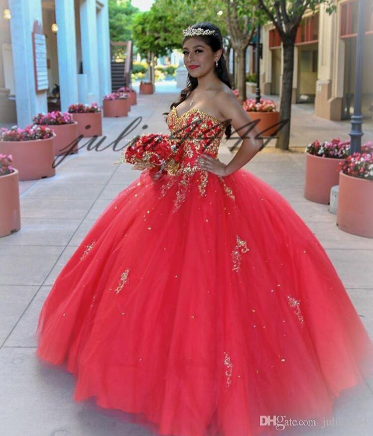 Compre 2019 Sweetheart Elegante Vestido De Fiesta De Quinceañera Apliques Espalda Abierta Con Cordones Vestido De Fiesta Con Cuentas De Cristal