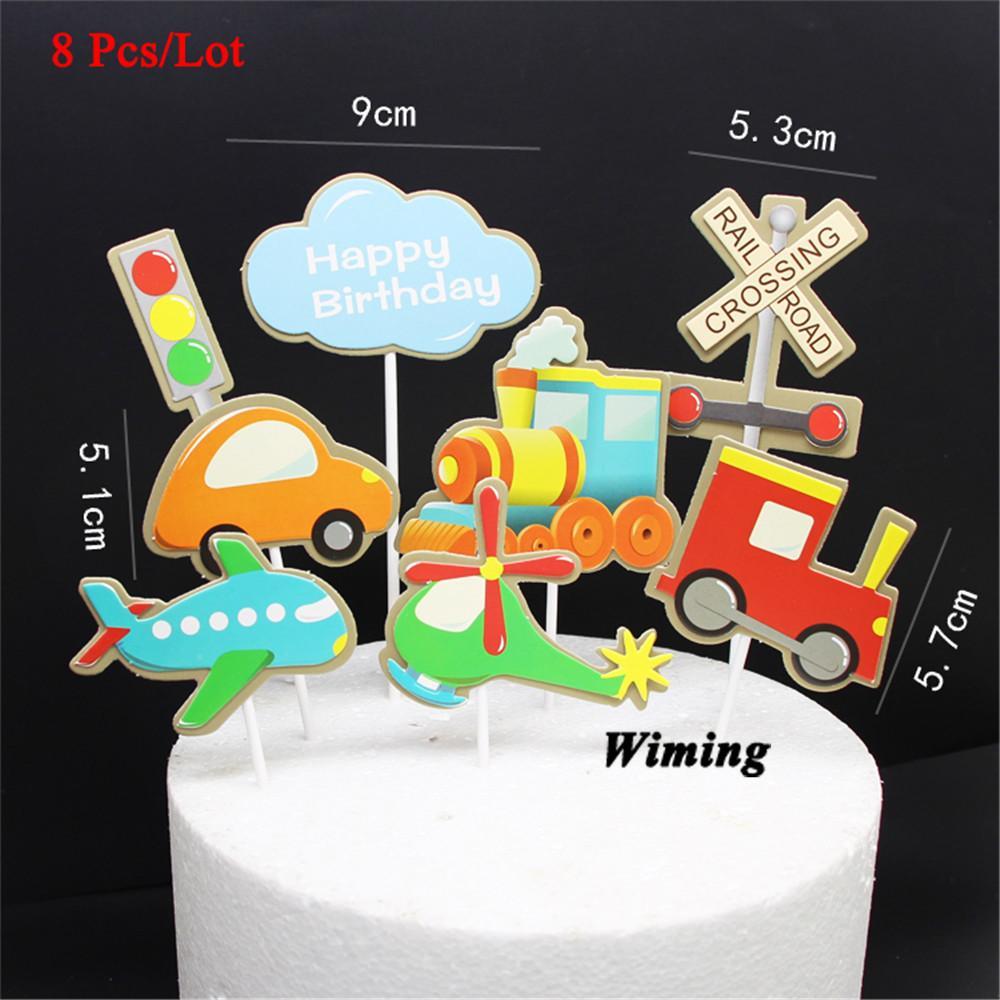 Sensational 2020 Happy Birthday Decoration Cupcake Toppers Kids Party Supplies Birthday Cards Printable Giouspongecafe Filternl