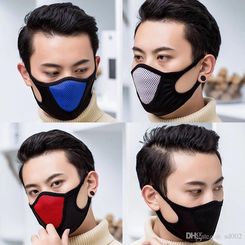 In Stock Protective Face Mask Adult Dustproof Cover Masques Full Reusable Masks Anti Dust Respirator Free Ship Elastic Popular