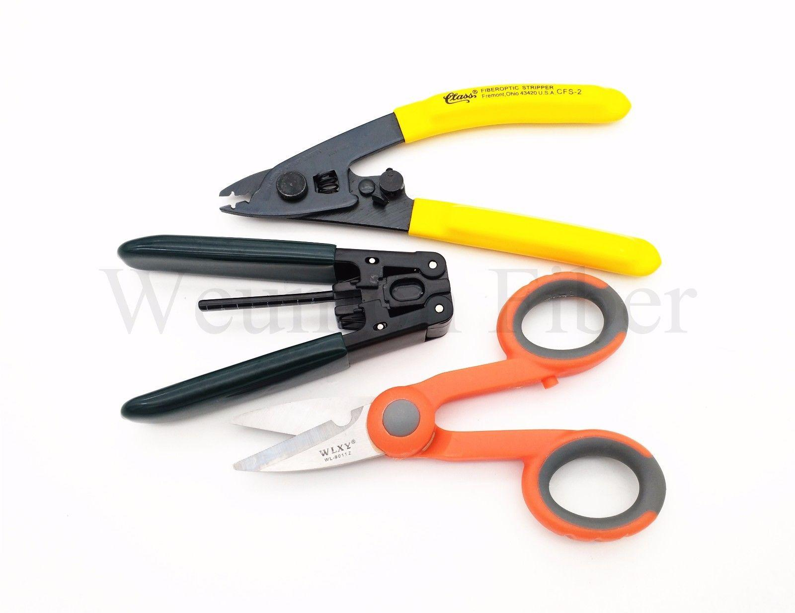 Fiber Optic Stripping Tool FTTH Drop Cable Stripper CFS-2 Fiber Cutter FTTH Tool