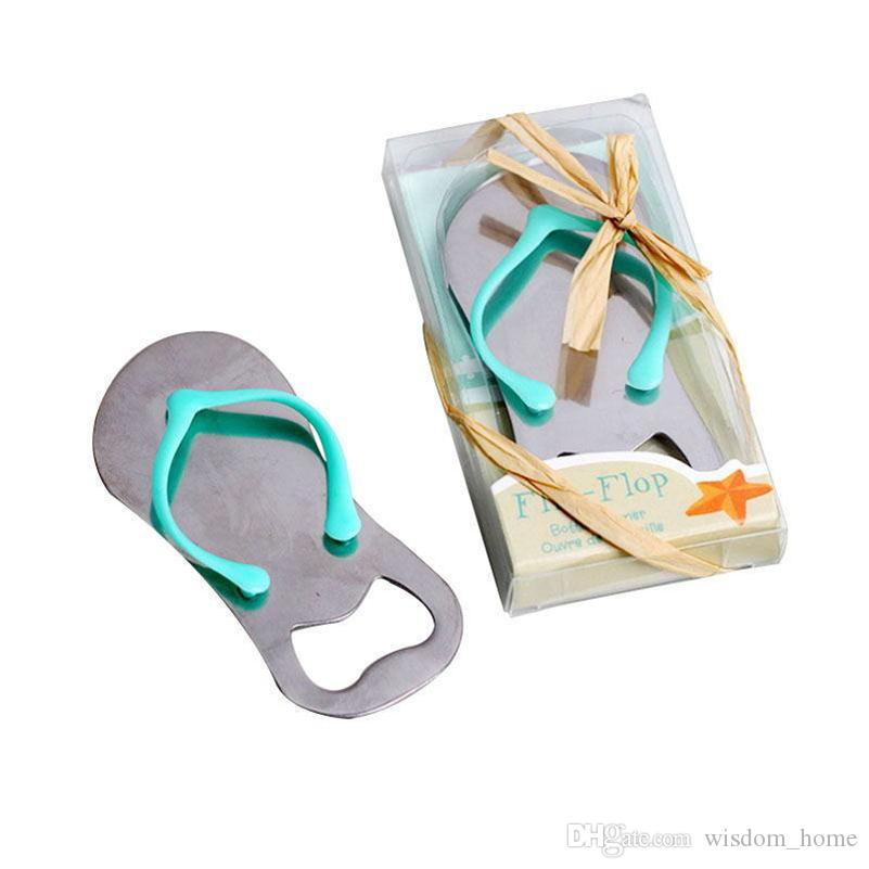 Wedding Gifts Pink Flip Flops bottle opener Wholesale For wedding favors party favors DHL Free shipping W95955