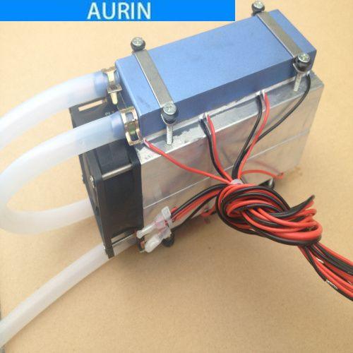 Acheter Diy Refroidisseur De Reservoir De Poissons Refroidisseur D Aqurium Peltier 12706 Semi Conducteur Refrigeration Climatiseur Liquide De