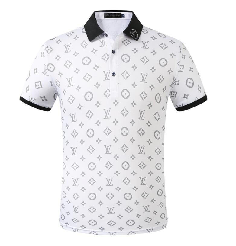 2020shirt Fest Shirt Männer Shirts Hülsen-Männer Grund Top-Baumwolle für Homme