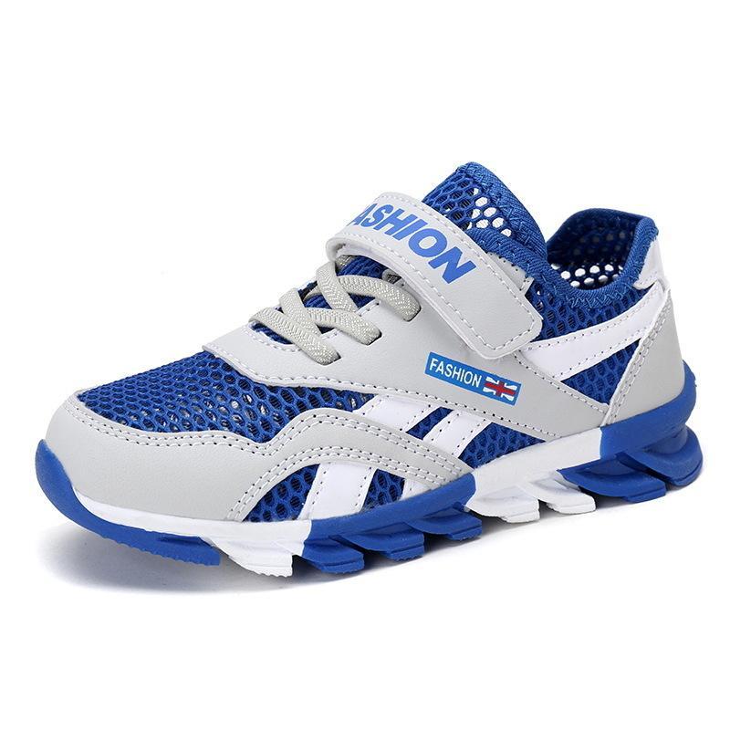 Malla Transpirable Zapatillas de deporte para niños Zapatos para niños Zapatos para niños Niños Niños Escuela deportiva Zapatillas 28 30 31 32 33 34 35 36 37 39 Y190525