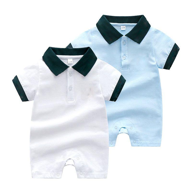 enfants vêtements griffés filles garçons barboteuse infantile peluche rayure Combinaisons 2019 Mode d'été Boutique bébé Vêtements d'escalade C6702