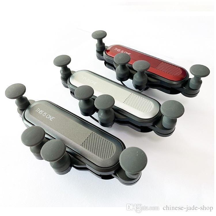 Это один Air Vent Mount Мобильный держатель для смартфона Автомобильный держатель Датчик силы тяжести В розничной упаковке 150 шт. / Лот