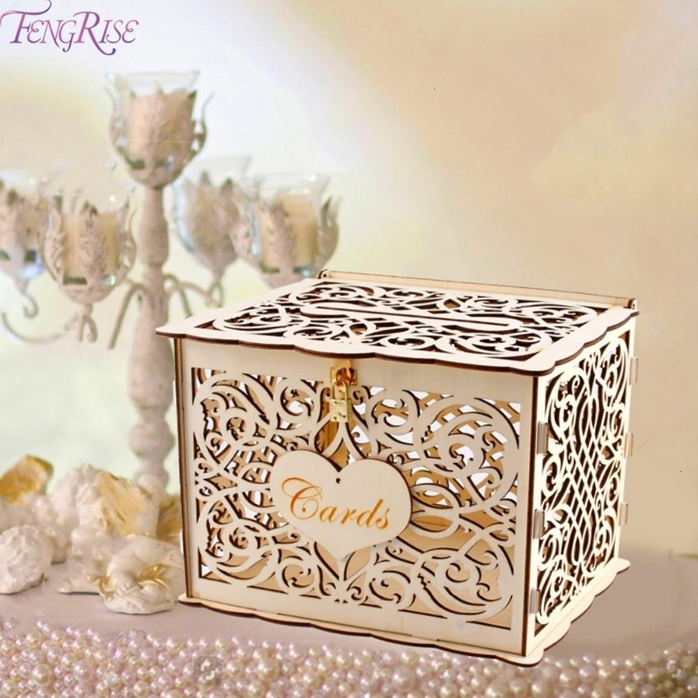 Fengrise Vintage Wedding Card Box With Lock Wedding Decor Wedding Party Supplies Anniversary Birthday Party Decor Baby Shower T190929 Christmas Decorations For House Christmas Decorations For Kids From Chao10 13 32 Dhgate Com