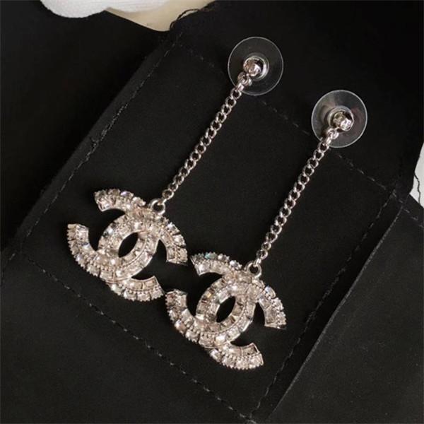 haut de gamme de qualité supérieure boucles d'oreilles de créateurs de perles simples femmes de bijoux de luxe elagant style mode stud rond siilver.