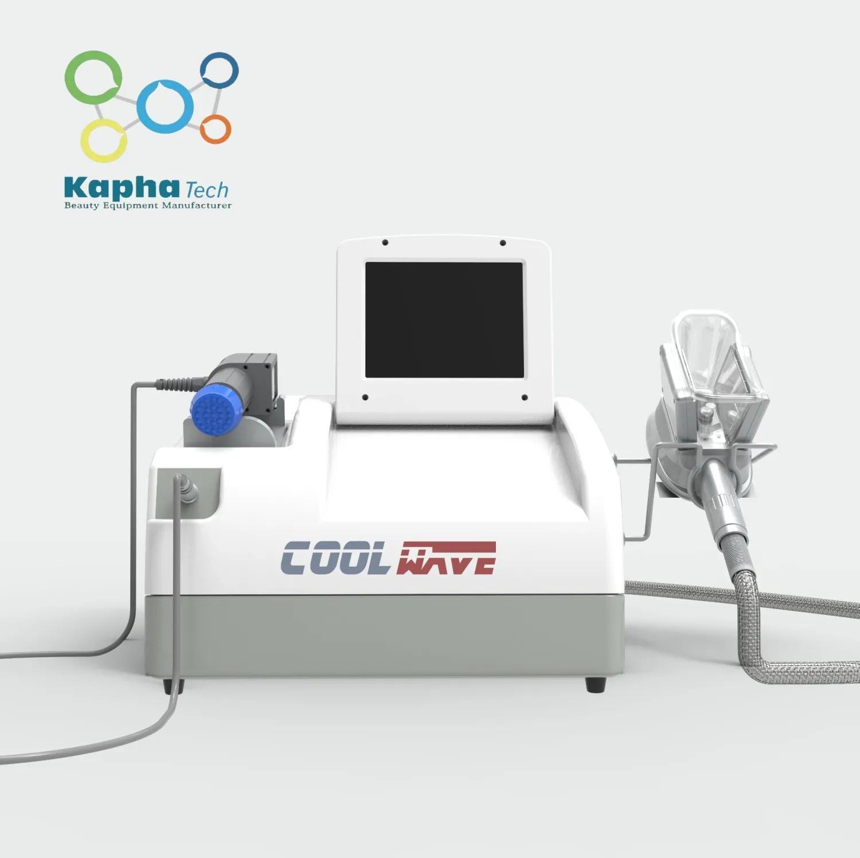 Sıcak satmak selülit azaltma kilo kaybı için şok dalga tedavisi ile Cryolipolysis Vücut Zayıflama Makinesi soğutmak