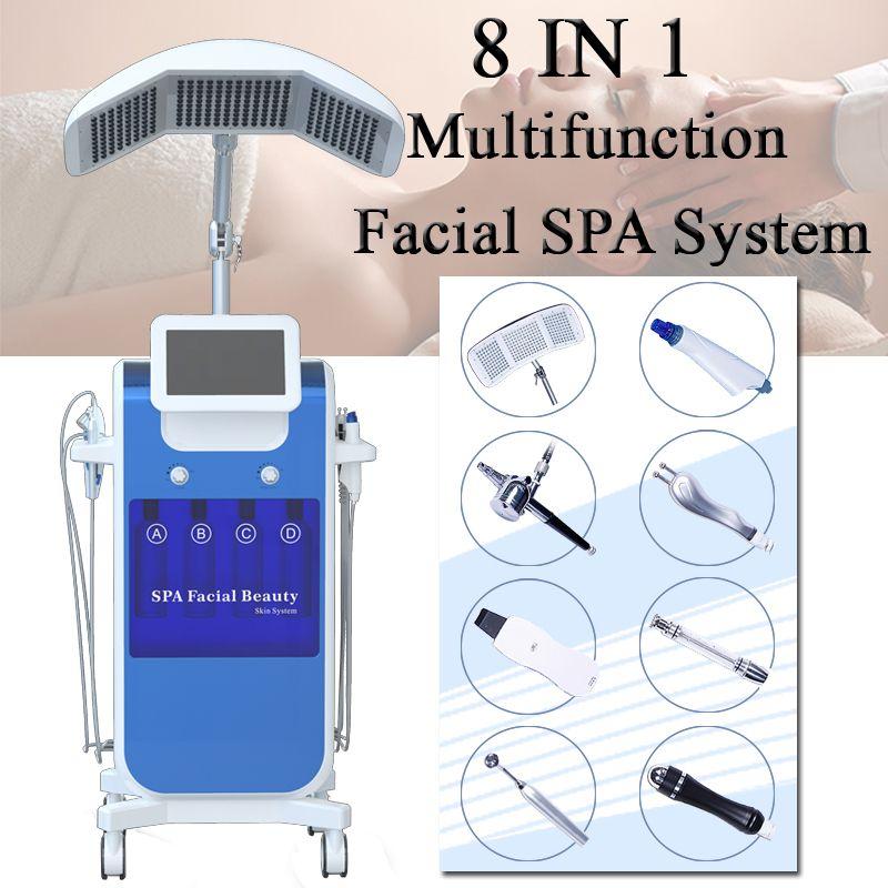 Microdermoabrasión máquina de microcorriente Peeling de diamante Dermoabrasión vacío cuidado de la piel facial máquina de eliminación de arrugas de acné spa anti envejecimiento
