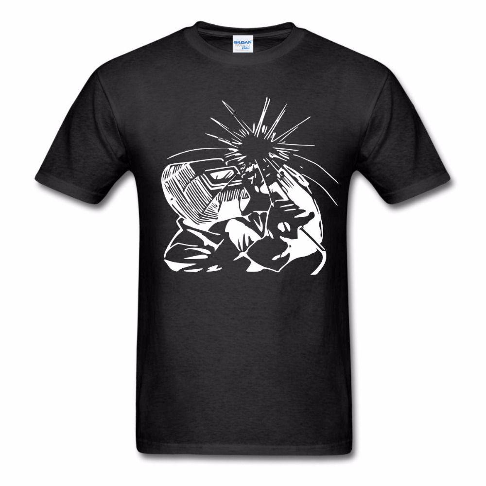 Le dernier 2019 T-shirt pour hommes Tee Shirt Vêtements pour hommes Soudeur Silhouette T-shirt pour hommes Vêtements Summer O - Manteau