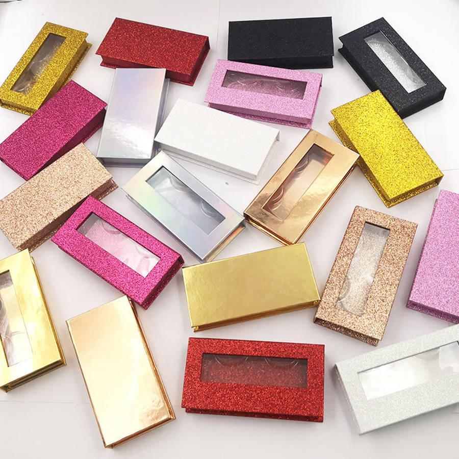 Магнитные ресницы коробка 3D норки ресницы коробки поддельные накладные ресницы упаковочный кейс пустая коробка ресниц косметические инструменты RRA1780