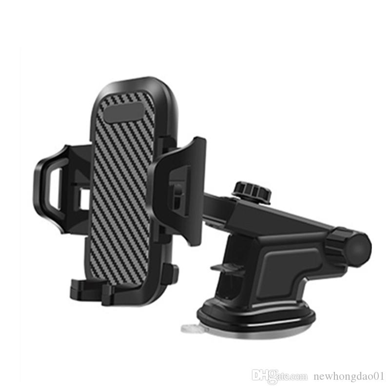 Wholesale Luxury Car Phone Holder For iPhone 12 11 pro max X XS 8 7 Plus Windshield Mount Phone Stand Car Holder For Samsung S20 S10