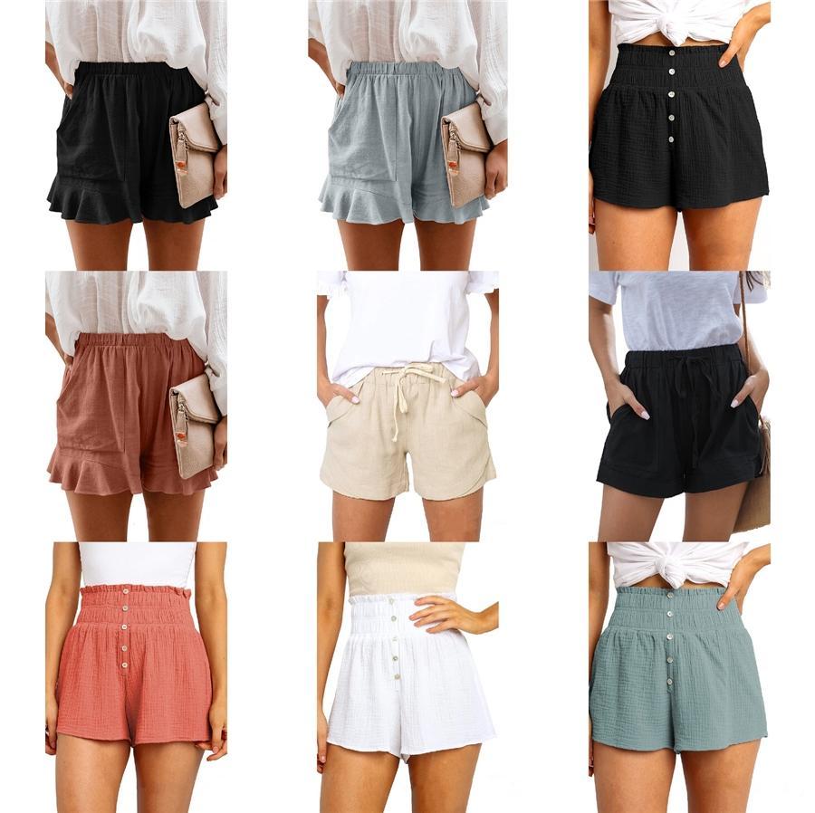 Strand-Hosen-Designer Printed Damen-Hosen Art und Weise Sommer-lose kurze Hosen des beiläufigen Frauen # 938