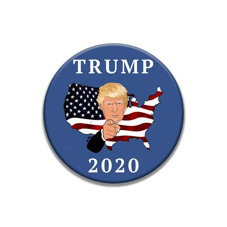 Eu Galler Dostluk Bayrağı Yaka Pin Bayrağı Trump Rozet Yaka iğneler Trump Rozetler Broş Xy0490 # 827
