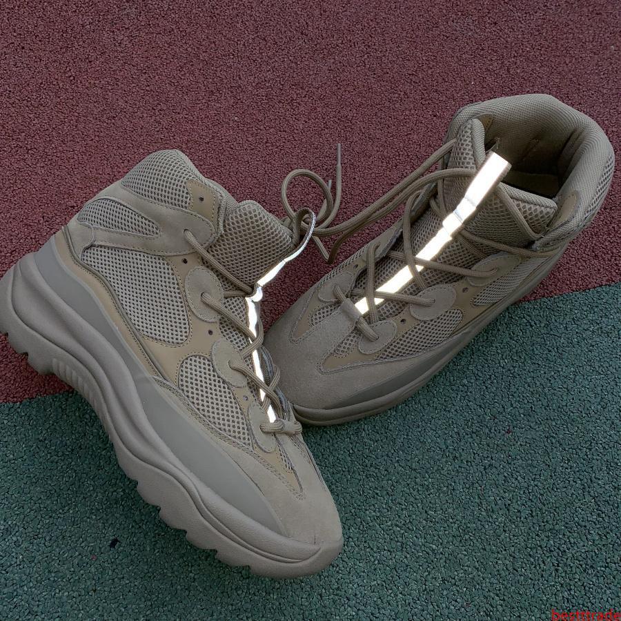 diseño de lujo Kanye desierto Martin botas de moda de lujo 2020 zapatos de marca zapatos de la estación 6 de deportes al aire libre de los hombres de la estrella zapatos deportivos botín de los hombres