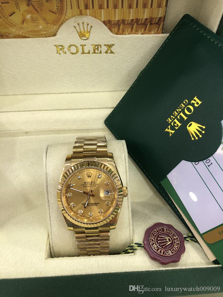 원래 상자 럭셔리 고품질 시계 41mm 대통령 DATEJUST 116334 사파이어 유리 아시아 2813 운동 기계 자동 남성 시계
