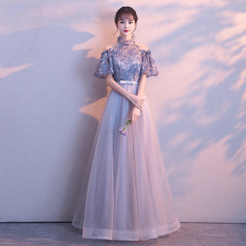 Gary Traditionnel Chinois Robe De Mariée Cheongsam Longue Qipao Traditions De Mariée Classique Femmes Robe Des Robes Orientales Robe Novia