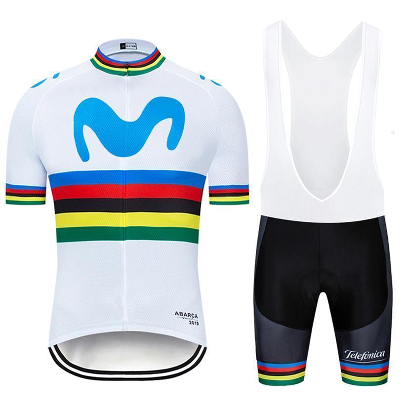 NEW 2020 MOVISTAR Trikot Fahrrad unteren Bekleidung TEAM BICYCLING Maillot Radhose Ropa Ciclismo HERREN Sommer schnell trocken Pro