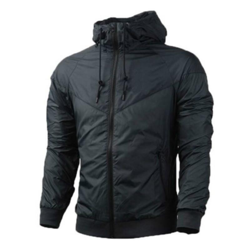 Brand Designer Sweatshirt Hoodie Fashion Men Jacket Long Sleeve Autumn Sports Outdoor Windrunner Zipper Windcheater Coat Plus Size