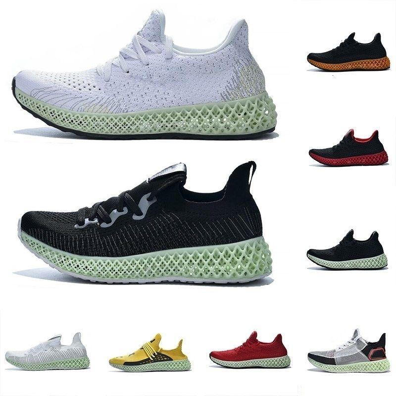 2019 4 5 13 Newest Homens Mulheres Designer Futurecraft Verde Vermelho Branco Amarelo Alphaedge d Moda Correndo instrutor Size- Outdoor Shoes
