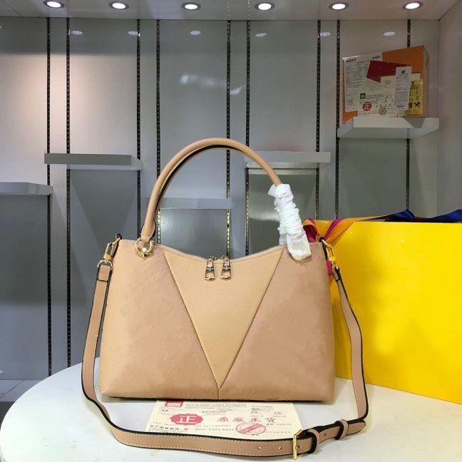 Original de alta qualidade Designer de Luxo Bolsas bolsas V TOTE BB Bag Mulheres Tote Marca couro estampada em couro genuíno Bolsas de Ombro