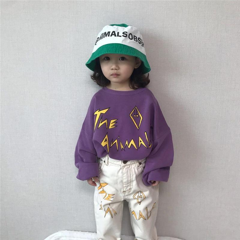 EnkeliBB 2020 TAO Kids топы для мальчиков и девочек дети Oversize повседневный стиль толстовка малыш Весна брендовая одежда цветок собака
