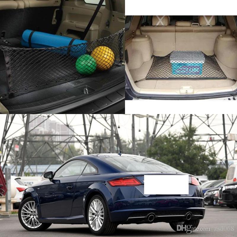 لطراز AUDI TT TTQuattro السيارات السيارات الخلفية جذع شحن منظم التخزين نايلون عادي عمودي شبكات الأمان
