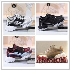2020 designer new luxury casual fashion dad shoes ventilate sneaker couple men and women shoes 35 yards to 45 yards grey j0310