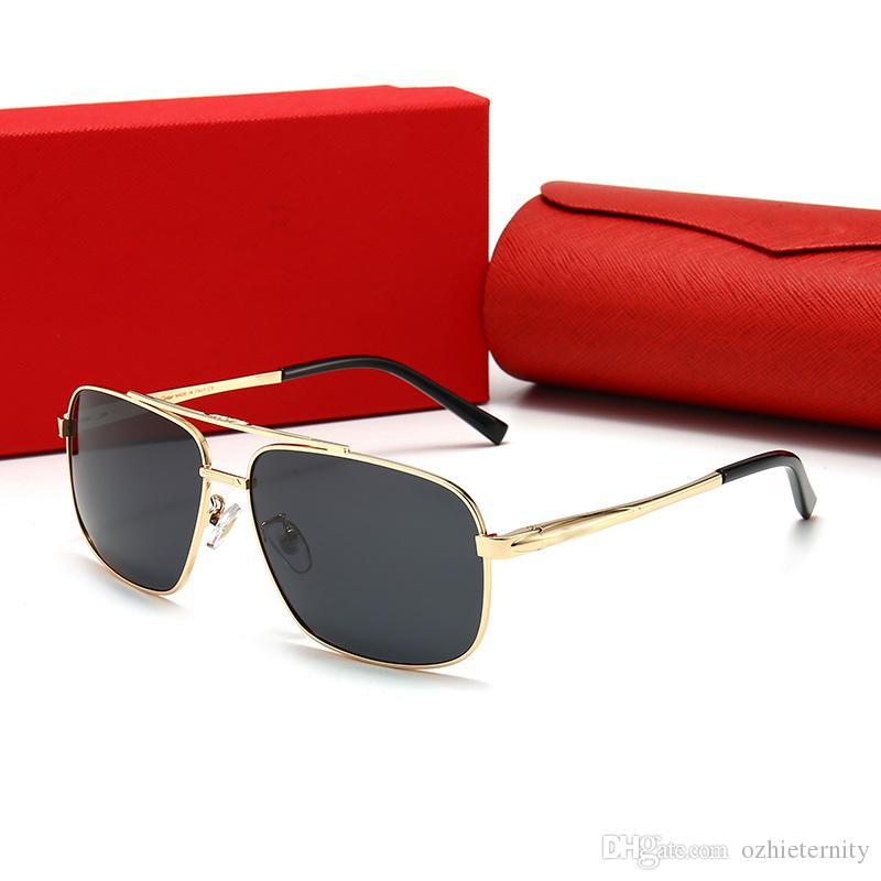 Serie Top Oz Diseñador de moda Gafas de sol Gafas de marco Vidrios populares Estilo más reciente Calidad óptica de gran tamaño y gafas El avant-Garde Fdhol