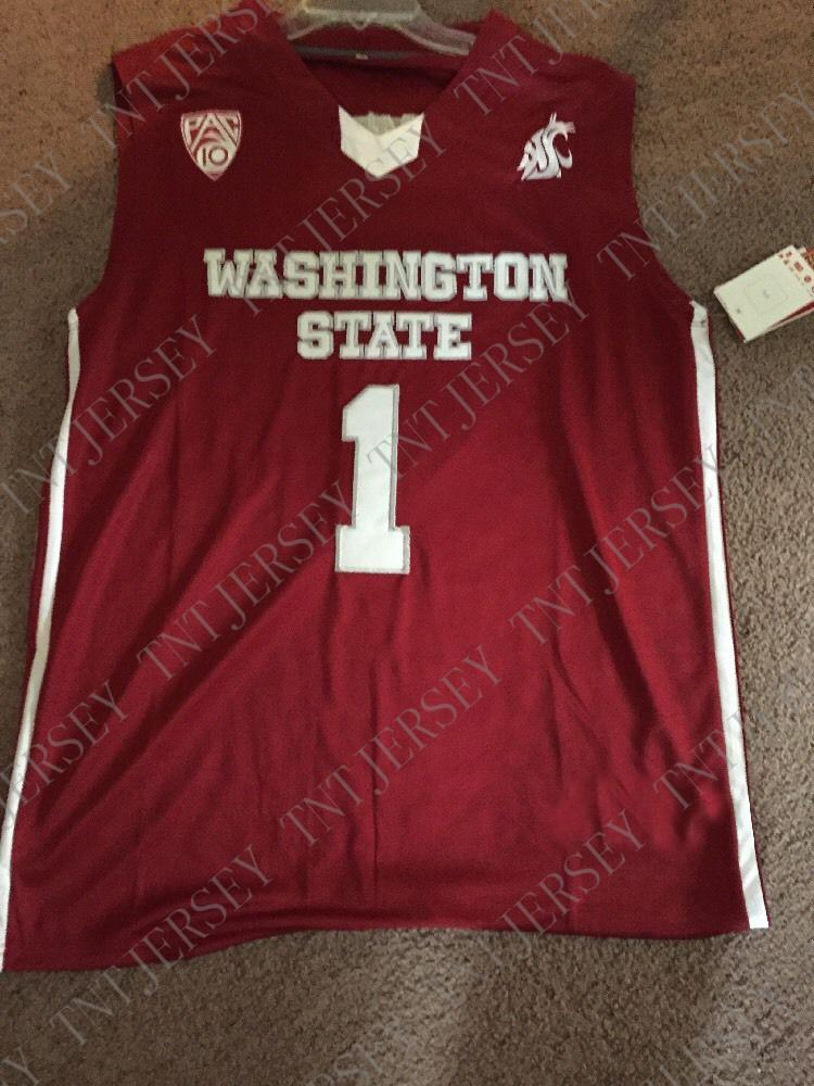 outlet store 009c3 b32fc 2019 Cheap Custom Klay Thompson Washington State Cougars NCAA Basketball  Jersey Stitch Customize Any Number Name MEN WOMEN YOUTH XS 5XL From ...