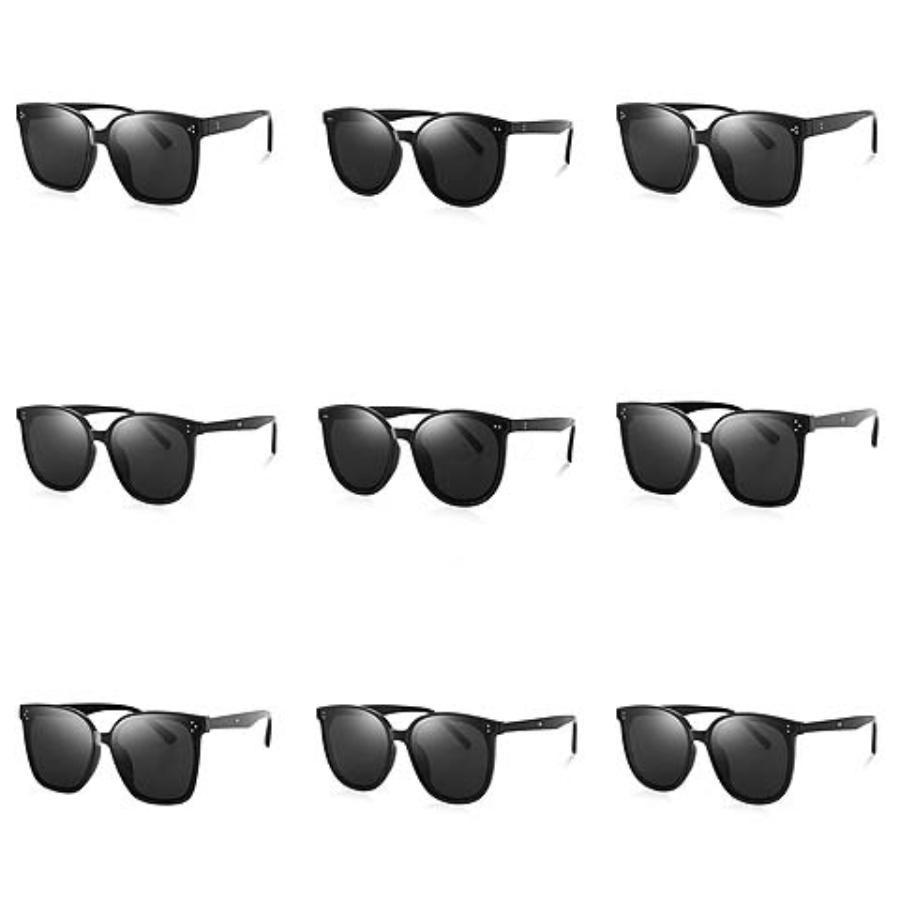 New Arrival Fashion Baroque Retro Sunglasses Crystal Flower Pearl Chain Decoration Beach Sun Glasses Personalized Accessories#384