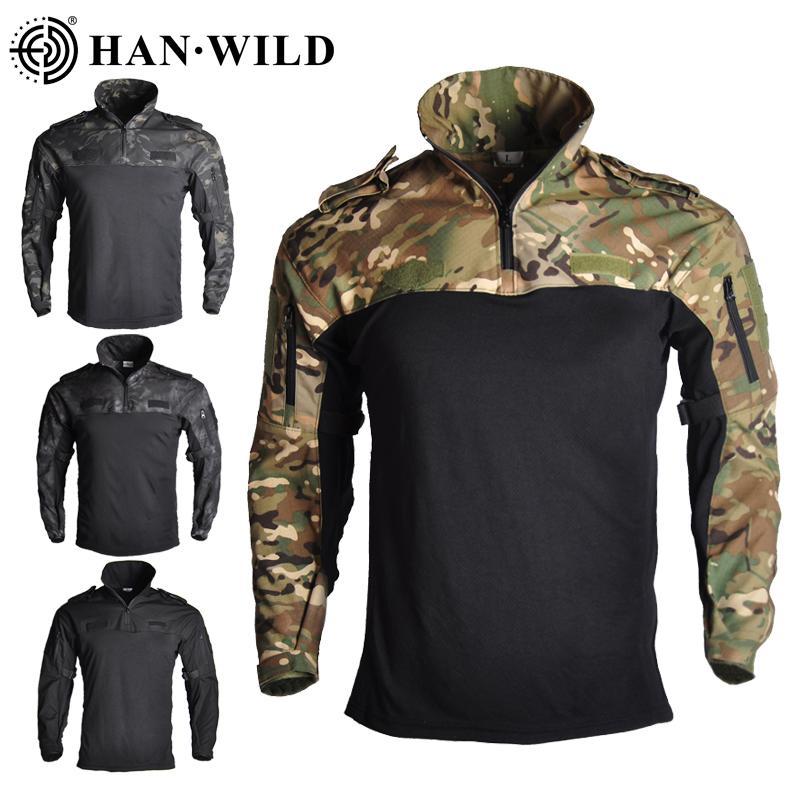 Camouflage vêtements de chasse tactique Grenouille Costumes Uniforme militaire Paintball Airsoft Sniper combat ShirtPants Jersey