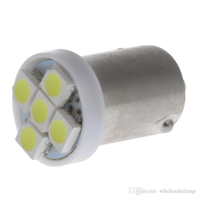BA9S 1210 5SMD 3528 칩 자동차 LED 인테리어 램프 대시 보드 전구 12V DC 자동 전구