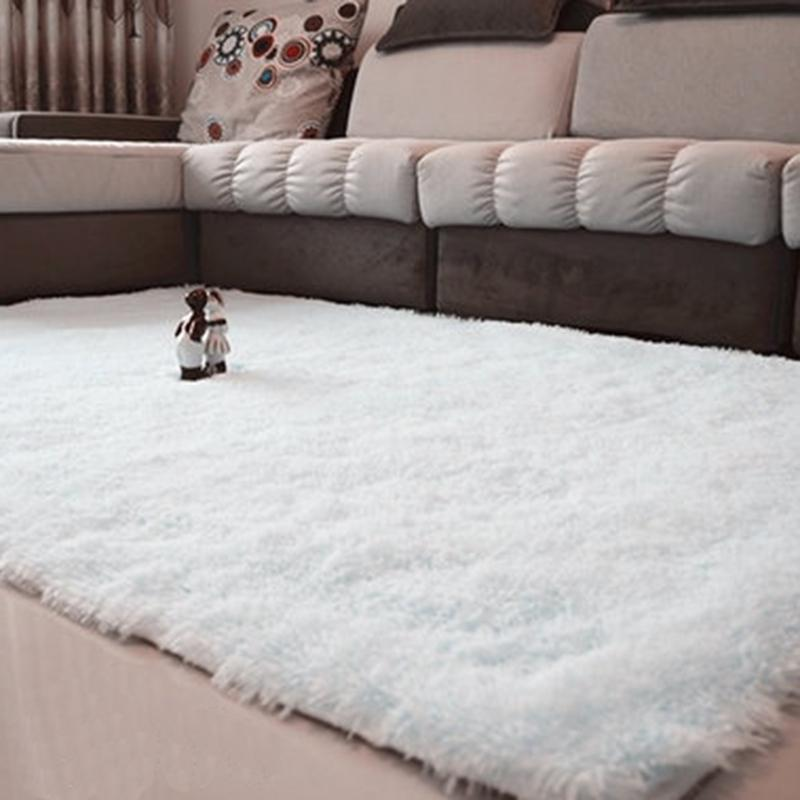 2020 80 120cm Fluffy Rugs Anti Skid Shaggy Area Rug Bedroom Bathroom Dining Room Home Carpet Floor Mat Pink Black Gray Green Wine Q190528 From Yiwang08 20 7 Dhgate Com