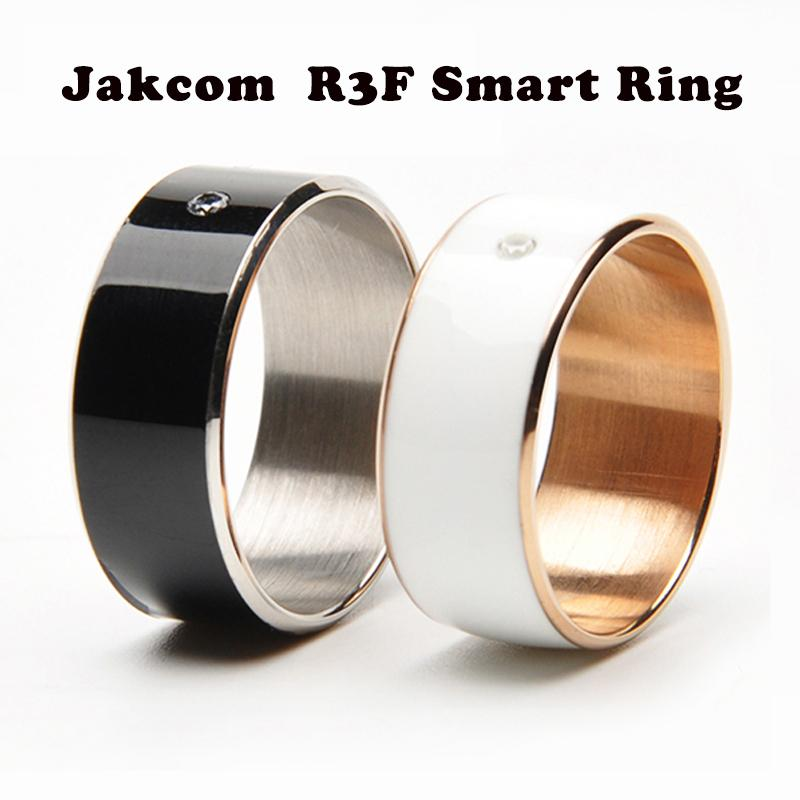 Top Jakcom R3F Smart Ring For High Speed NFC Electronics Phone Smart Accessories 3-proof App Enabled Wearable Technology Magic Ring