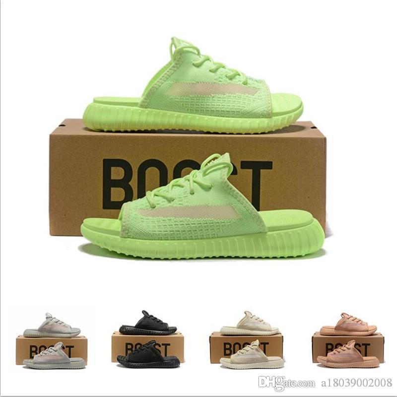 marca de qualidade superior quente Mens sapatos das mulheres designer de Praia Deslize Sandals Medusa Scuffs Chinelos Mens branco da Praia ar sandálias US 7-12