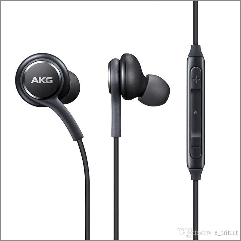 S8 سماعة هيئة التصنيع العسكري للحصول على سامسونج غالاكسي S8 S9 S10 ملاحظة 6 7 8 سماعة 3.5mm اصلي سماعات EO-IG955BSEGWW يدوي سماعات الأذن الهاتف