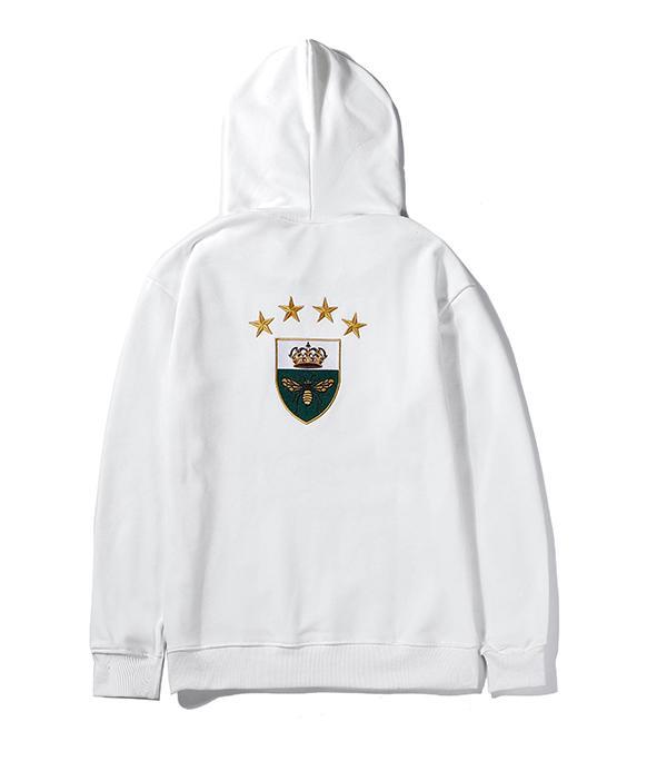 Hoodies Mens Designer Hoodie Rua Hip Hop algodão de alta qualidade soltas Fit Luxo camisola do Hoodie B102655J