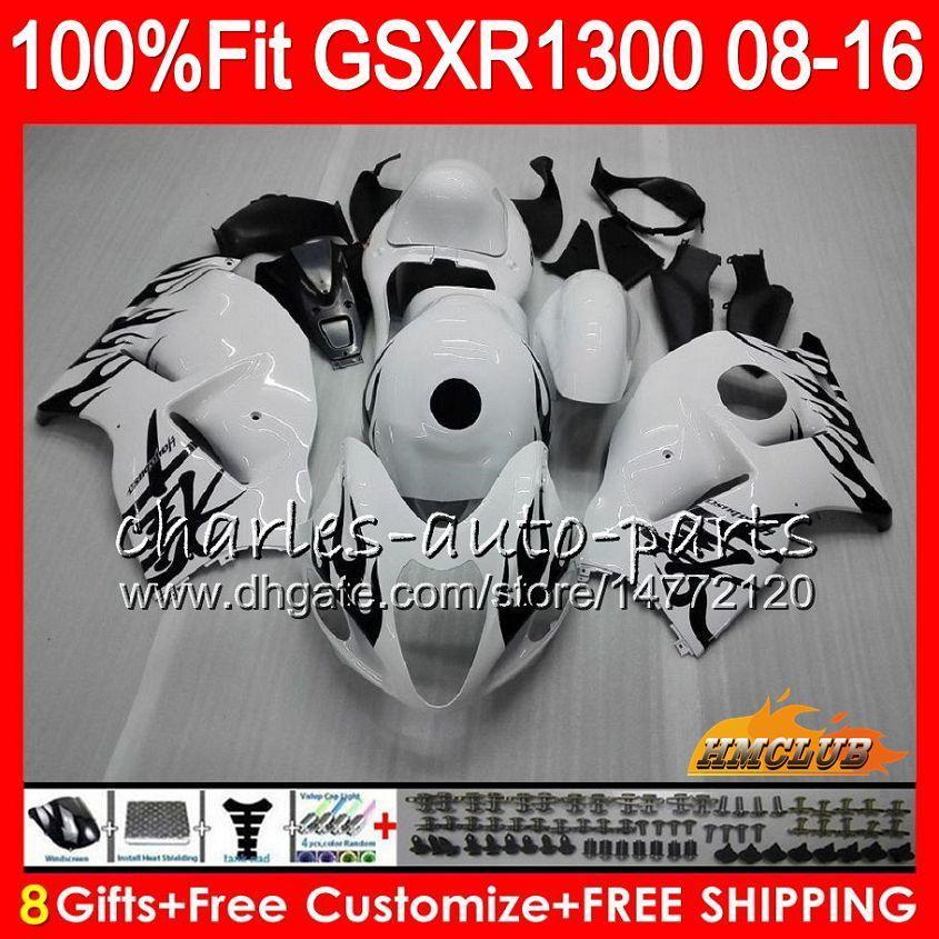 OEM для SUZUKI GSXR1300 Hayabusa 08 14 15 2008 2014 2015 25HC.237 GSXR 1300 GSXR-1300 16 черного пламени 17 18 2016 2017 2018 Инжекторный обтекатель