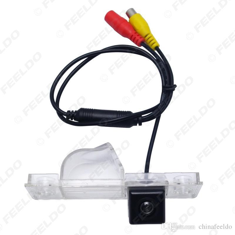 LEEWA CCD Специальный вид сзади автомобиля обратного резервных камер для Roewe 350 2010-2013 Парковки Камера # 3939