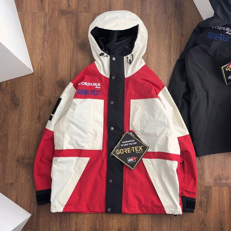 19FW BOX LOGO X TheNF Week15 Expedition Pullover Jacket waterproof Men Women Coat Fashion Windproof Matching Outerwear TOP Quality HFLSJK289