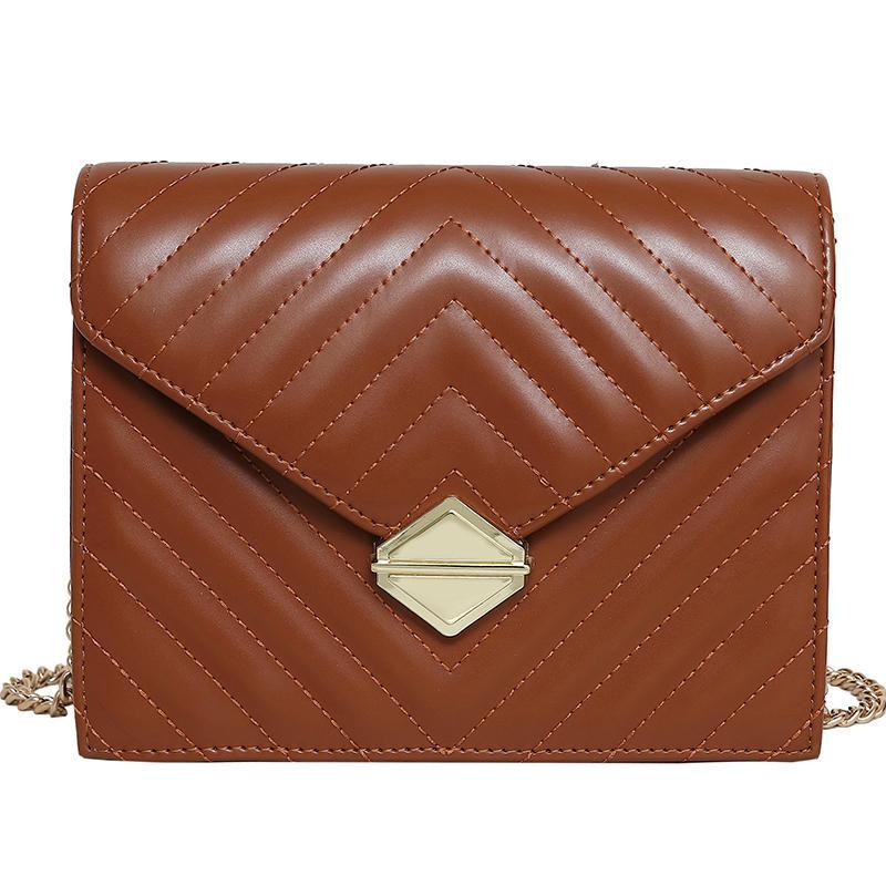 Retro Moda Grande Handbag 2020 New alta qualidade PU de couro das mulheres Designer Luxury Handbag Bloqueio Cadeia Ombro Mensageiro sacos CX200622