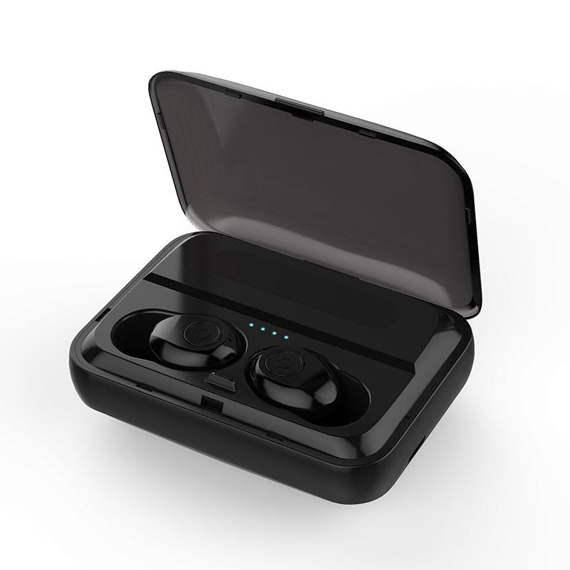 F9 TWS Bluetooth 5.0 Auricolare HD stereo wireless auricolari wireless headfudes impermeabile rumore cancellazione della cuffia da gioco con scatola di ricarica 1300mAh