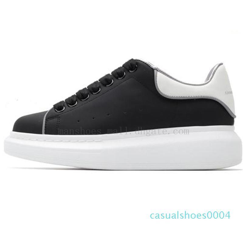 Kadın Chaussures Ayakkabı Güzel Platformu Casual Sneakers Lüks Tasarımcılar Ayakkabı Deri Katı Renkler Elbise Ayakkabı AE04
