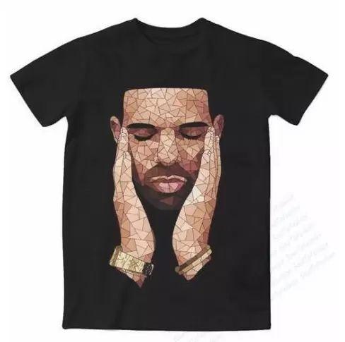 Date Mode Hommes / Femmes Drake OVO T-shirt Style D'été Drôle Impression 3D T-Shirt Casual T-Shirt Hip Hop Sweat Tops Tees Plus La Taille