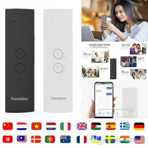 Nuovo traduttore vocale intelligente T6 traduzione bidirezionale in tempo reale 30 multilingue per l'apprendimento di un meeting aziendale itinerante