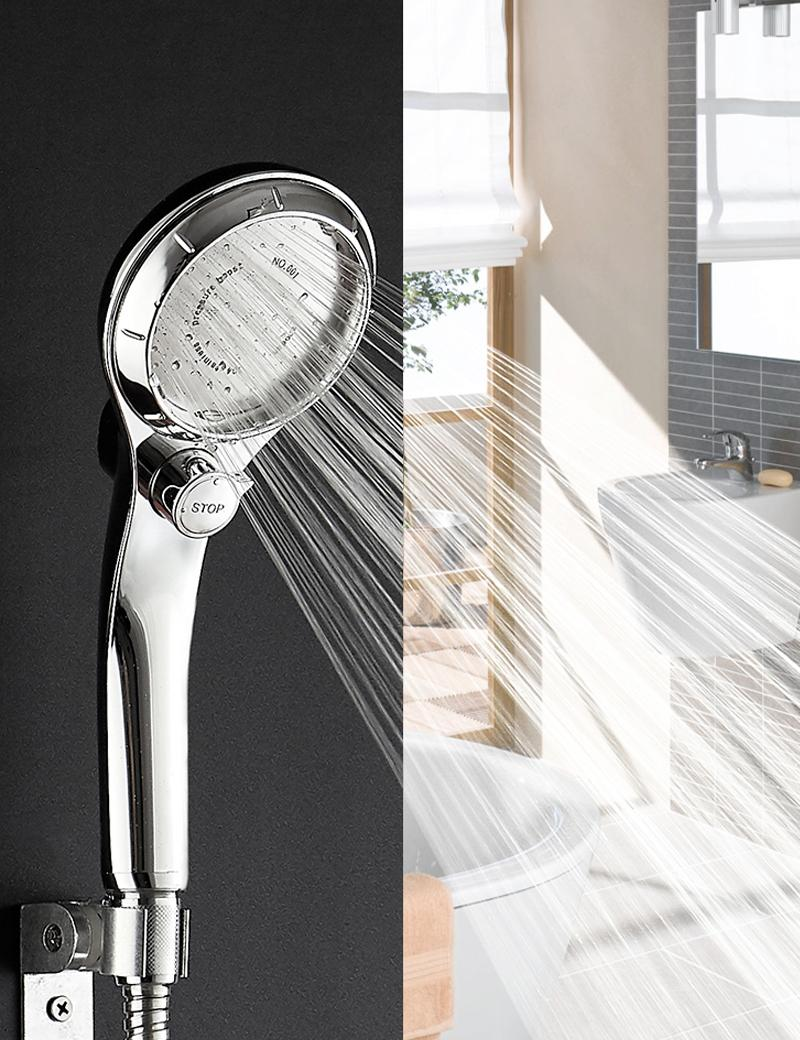2019 High Pressure Handheld Shower Head With On Off Pause Switch Water Saving Showerhead Detachable Puppy Shower Accessories From Blithenice 24 51