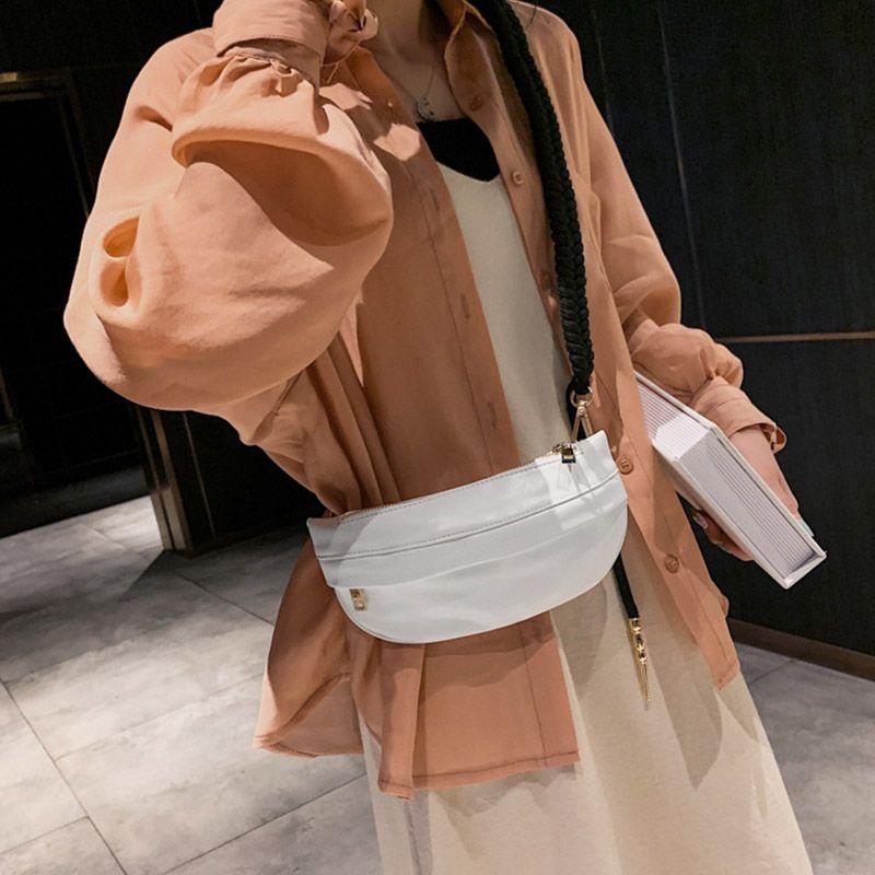 2019 Women New Style Elegant Fashion Design Casual Sweet Concise Solid Color Cute Girls Shoulder Messenger Bag Small Pocket Bag